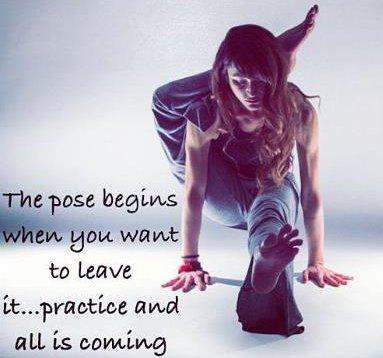 Dharana In Yoga Means Focus.  MiraculousEndeavors.com